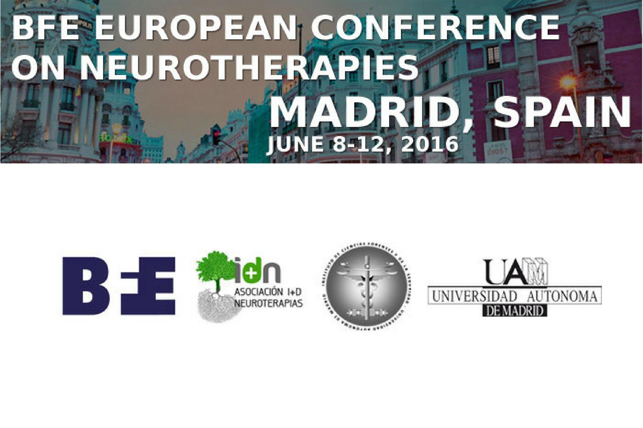 I Congreso Europeo de Neuroterapias BFE 2016