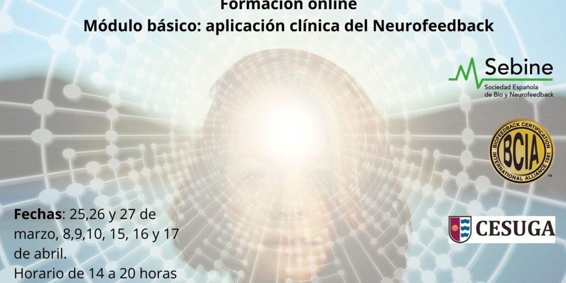 Abierto el plazo para inscribirse al MÓDULO BÁSICO: APLICACIÓN CLÍNICA DEL NEUROFEEDBACK ONLINE