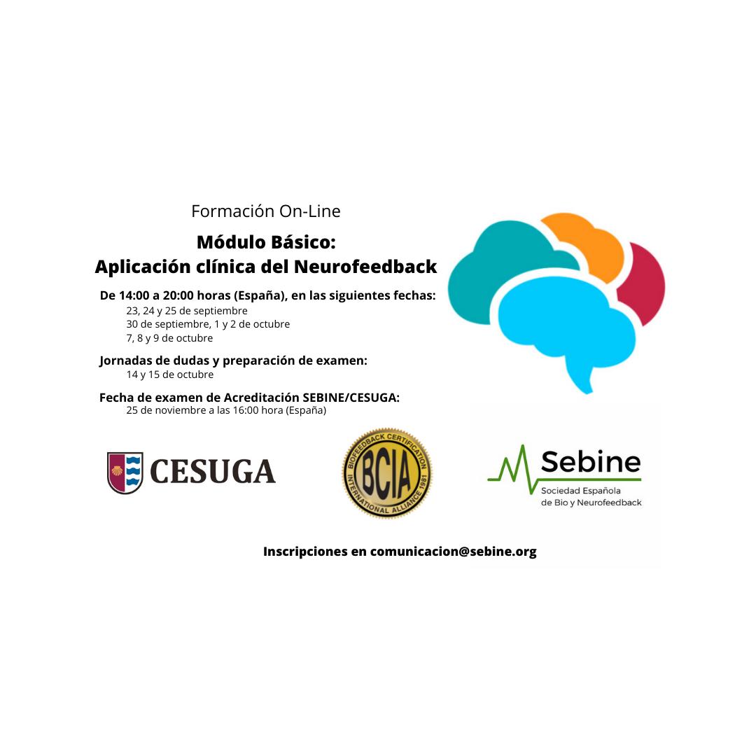 MÓDULO BÁSICO APLICACIÓN CLÍNICA DEL NEUROFEEDBACK ONLINE